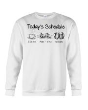 Canoeing - Today's Schedule Crewneck Sweatshirt thumbnail