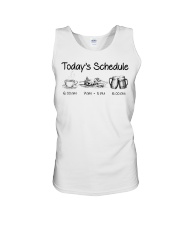 Canoeing - Today's Schedule Unisex Tank thumbnail