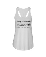 Canoeing - Today's Schedule Ladies Flowy Tank thumbnail