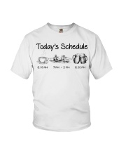 Canoeing - Today's Schedule Youth T-Shirt thumbnail
