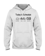 Canoeing - Today's Schedule Hooded Sweatshirt thumbnail