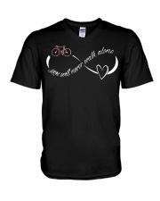 Cycle - You Will Never Walk Alone V-Neck T-Shirt thumbnail