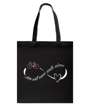 Cycle - You Will Never Walk Alone Tote Bag thumbnail