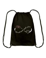 Cycle - You Will Never Walk Alone Drawstring Bag thumbnail
