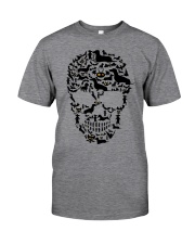 Dachshund - Skull Classic T-Shirt front