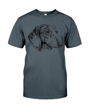 dachshund beauty Classic T-Shirt tile