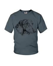 dachshund beauty Youth T-Shirt thumbnail
