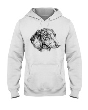 dachshund beauty Hooded Sweatshirt front