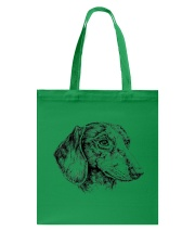 dachshund beauty Tote Bag thumbnail