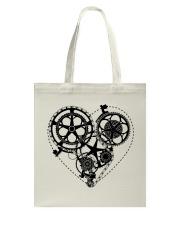 Cycle - Heart Tote Bag thumbnail