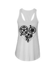 Cycle - Heart Ladies Flowy Tank thumbnail