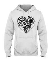 Cycle - Heart Hooded Sweatshirt thumbnail