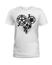 Cycle - Heart Ladies T-Shirt thumbnail
