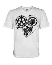 Cycle - Heart V-Neck T-Shirt thumbnail