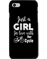 Cycle - ust A Girl In Love With Her Cycle Phone Case thumbnail