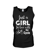 Cycle - ust A Girl In Love With Her Cycle Unisex Tank thumbnail