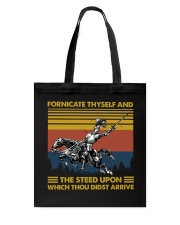Temp Fornicate Thyself Tote Bag thumbnail