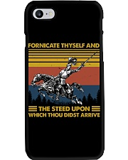 Temp Fornicate Thyself Phone Case thumbnail