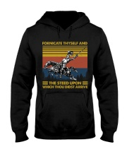Temp Fornicate Thyself Hooded Sweatshirt thumbnail