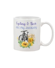 Cycle - Cycling And Beer Are My Therapy Mug tile