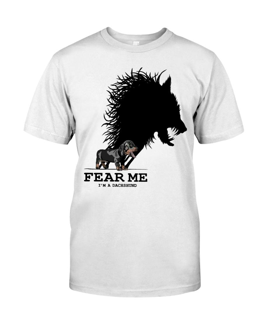 Dachshund - Fear Me Classic T-Shirt