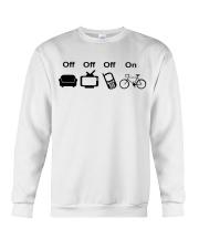Cycle - Off - On Crewneck Sweatshirt thumbnail