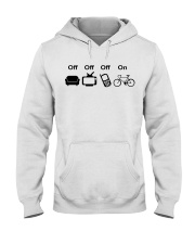 Cycle - Off - On Hooded Sweatshirt thumbnail