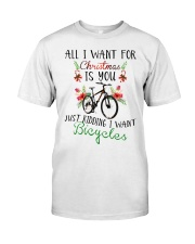 Cycle - Merry Christmas - All I Want Classic T-Shirt thumbnail