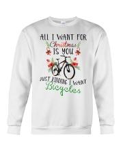 Cycle - Merry Christmas - All I Want Crewneck Sweatshirt thumbnail