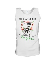 Cycle - Merry Christmas - All I Want Unisex Tank thumbnail