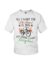 Cycle - Merry Christmas - All I Want Youth T-Shirt thumbnail