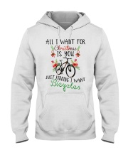 Cycle - Merry Christmas - All I Want Hooded Sweatshirt thumbnail