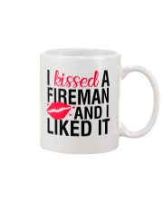 Firefighter - I Kissed A Fireman Mug thumbnail