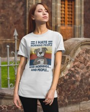 Pitbull I Hate Morning People Classic T-Shirt apparel-classic-tshirt-lifestyle-06