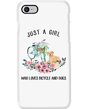 Cycle - Just A Girl  Who Loves Bicycle And Dogs Phone Case thumbnail