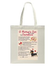 Dachshund - Happy Mother's Day Tote Bag thumbnail