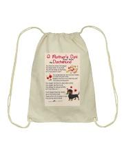 Dachshund - Happy Mother's Day Drawstring Bag thumbnail