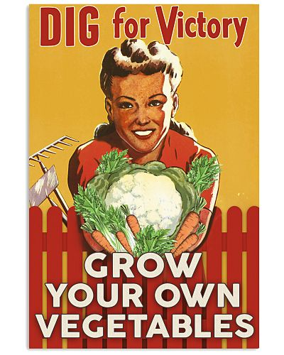 Gardening Dig For Victory Poster