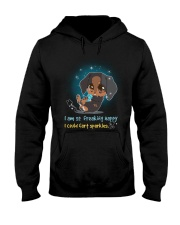 Dachshund -  I Am So Freaking Happy Hooded Sweatshirt thumbnail