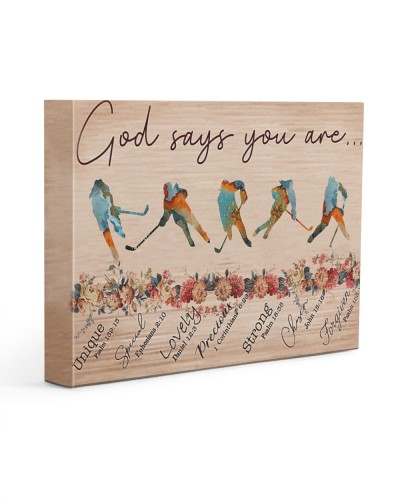 Ice Hockey God Says You Are