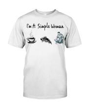 Carpenter - I'm A Simple Woman Classic T-Shirt front