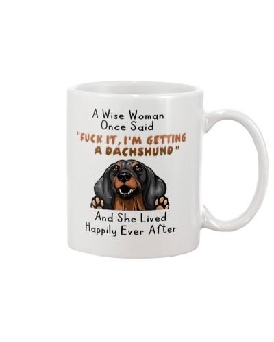 Dachshund She Lived Happily Ever After Mug
