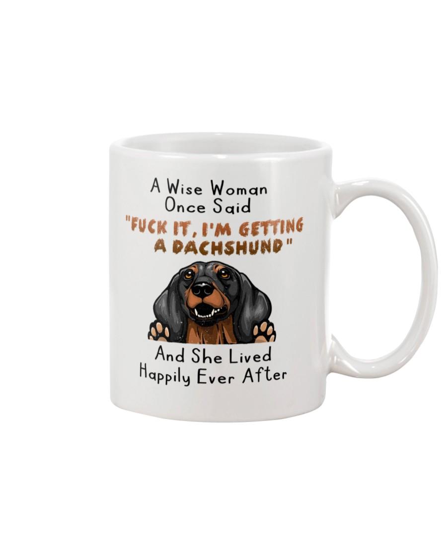 Dachshund She Lived Happily Ever After Mug Mug
