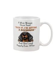 Dachshund She Lived Happily Ever After Mug Mug front