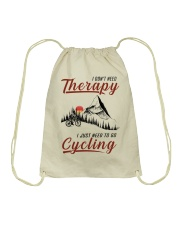 Cycle - I Don't Need Therapy Drawstring Bag tile