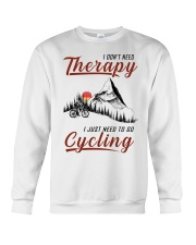 Cycle - I Don't Need Therapy Crewneck Sweatshirt tile