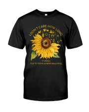 Camping I'm Going Somewhere Beautiful 1 Classic T-Shirt front