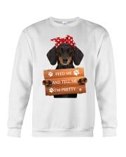 Dachshund - I'm Pretty Crewneck Sweatshirt front