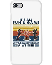 Funny Dachshund Wiener Camping Phone Case thumbnail