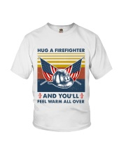 Firefighter You'll Feel Warm Over Youth T-Shirt thumbnail